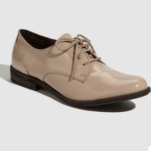 Halogen Nude Oxford Shoes